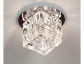 Светильник точечный встраиваемый Lussole LSA-7980-01 Pelinuro (модерн, хром)
