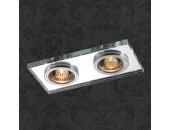 Точечный встраиваемый светильник Novotech 369765 Mirror (модерн, хром)