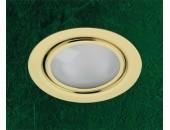 Мебельный встраиваемый светильник Novotech 369121 Flat (модерн, золото)