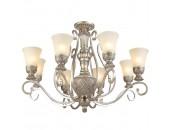 Люстра подвесная Chiaro 254010908 Версаче (классический, серебряный)