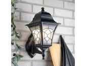 Уличный настенный светильник Elektrostandard Altair (классический, черный)