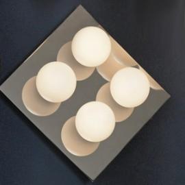 Люстра потолочная влагозащищенная Lussole LSQ-8901-04 Malta (модерн, хром)
