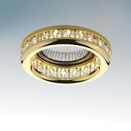 Точечный встраиваемый светильник Lightstar 031702 MONILE INC (модерн, золото)
