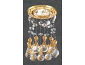 Точечный встраиваемый светильник Novotech 369784 Ritz (модерн, золото)