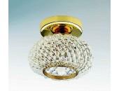 Точечный накладной светильник Lightstar 160302 Monile Top cr (модерн, золото)