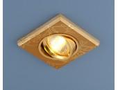 Точечный встраиваемый светильник Elektrostandard 2080 GD (модерн, золото)
