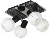 Светильник спот Lussole Mara LSL-8901-04 (модерн, хром)