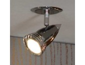 Светильник точечный встраиваемый Lussole LSQ-1700-01 Atella (хай-тек, хром)