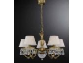 Люстра подвесная Reccagni Angelo L 6403/5 (классический, бронза)