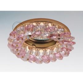 Точечный встраиваемый светильник Lightstar 030322 Onora Roseo (модерн, золото)