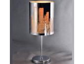 Настольная лампа Light Prestige 4131- City (модерн, хром)