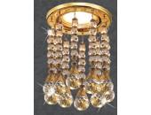 Точечный встраиваемый светильник Novotech 369786 Ritz (модерн, золото)