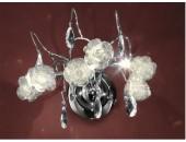 Бра Citilux EL325W03.1 Eletto Rosa Bianco (флористика, хром)