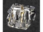 Точечный встраиваемый светильник Novotech 369285 Vetro (модерн, хром)