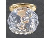 Точечный встраиваемый светильник Novotech 369807 Nord (модерн, золото)