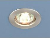 Точечный встраиваемый светильник Elektrostandard 863 SCH (модерн, хром матовый)