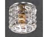 Точечный встраиваемый светильник Novotech 369723 Arctica (модерн, хром)