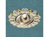 Точечный встраиваемый светильник Novotech 369820 Flower (модерн, серый)
