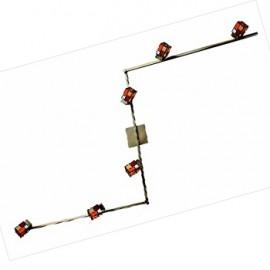 Светильник спот Citilux CL514561 Латина (тиффани, бронза)