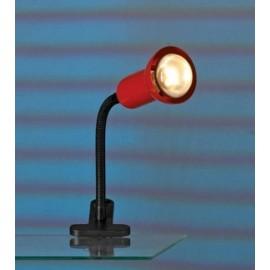 Настольная лампа прищепка Lussole LST-4534-01 (модерн, красный)