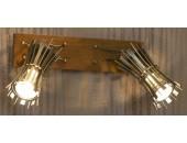 Светильник спот Lussole LSL-8401-02 Offagna (модерн, бронза)