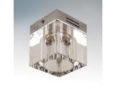 Точечный накладной светильник Lightstar 104010 Alta Qube Lo cr (модерн, прозрачный)