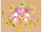 Светильник потолочный Citilux CL603142 бабочки (модерн, розовый)
