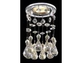 Точечный встраиваемый светильник Novotech 369783 Ritz (модерн, хром)