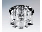 Точечный встраиваемый светильник Lightstar 004550 Pilone Cyl cr (модерн, прозрачный)