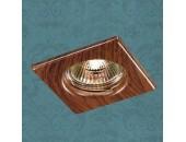 Точечный встраиваемый светильник Novotech 369717 Wood (модерн, дерево)