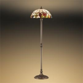 Торшер Odeon Light 2525/2F Garden (тиффани, коричневый)