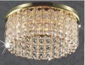Точечный встраиваемый светильник Novotech 369442 Pearl Round (модерн, золото)