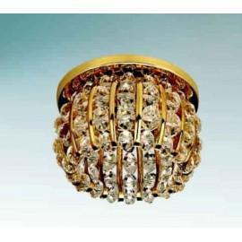 Точечный встраиваемый светильник Lightstar 030702 Monile Sfe cr (модерн, золото)