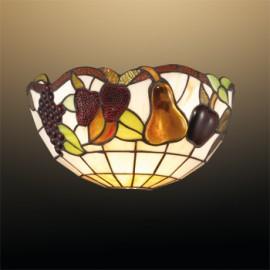 Бра Odeon Light 2525/1W Garden (тиффани, коричневый)