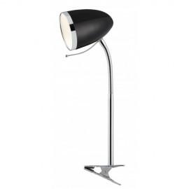 Настольная лампа ArteLamp A6155LT-1BK COSY на прищепке (модерн, черный)