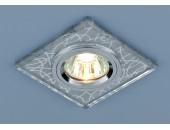 Точечный встраиваемый светильник Elektrostandard 8370 CH (модерн, хром)