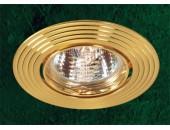 Точечный встраиваемый светильник Novotech 369433 Antic (модерн, золото)