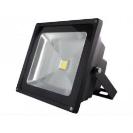 Прожектор светодиодный Gauss LED FL613100320 (модерн, черный)