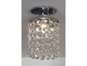 Точечный встраиваемый светильник Lussole LSJ-0400-01 Monteleto (модерн, хром)