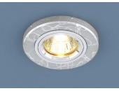 Точечный встраиваемый светильник Elektrostandard 2050 SL (модерн, серебро)