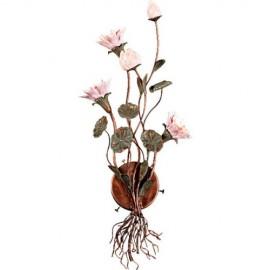 Бра Adelluce 08-086-3WB (флористика, коричневый)