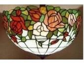 Бра Lussole TIFFANY 187411 (тиффани, красный)