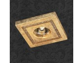 Точечный встраиваемый светильник Novotech 369731 Fable (модерн, золото)