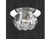 Точечный встраиваемый светильник Novotech 369605 Crystal (модерн, хром)
