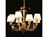 Люстра подвесная L`Arte Luce L12408.08 Belle (флористика, золото матовое)