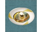 Точечный встраиваемый светильник Novotech 369629 Trek (модерн, золото)