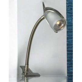 Настольная лампа прищепка Lussole LST-3924-01 (модерн, бронза)
