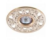 Точечный встраиваемый светильникNovotech 369989 Vintage (классический, золото)