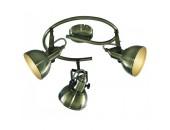 Светильник спотArteLamp A5215PL-3AB (хай-тек, бронза)