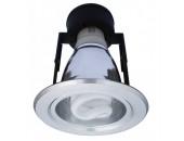 Встраиваемый светильник ArteLamp A8043PL-1SI (хай-тек, серый)